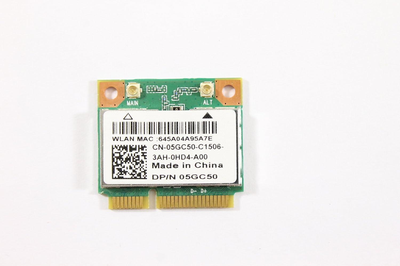 Dell Mini PCI Express Half Height 5GC50 WLAN WiFi 802.11n and Bluetooth Wireless Card QCWB335 Inspir