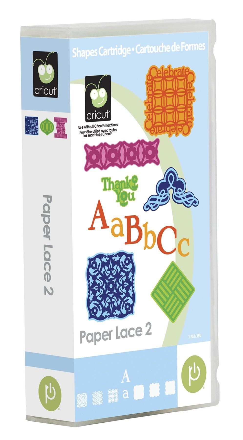 Cricut 2000941 Paper Lace 2 Cartridge