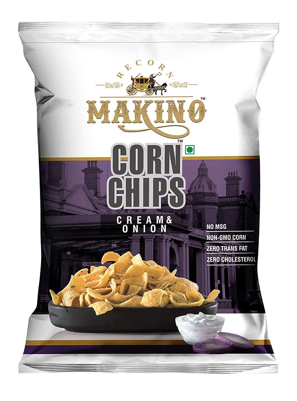 Makino Nachos Chips, Corn Chips Flat 50% off