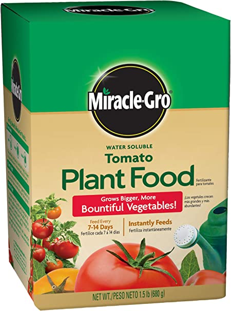 Amazon Com Miracle Gro Water Soluble Tomato Plant Food 1 5 Lb
