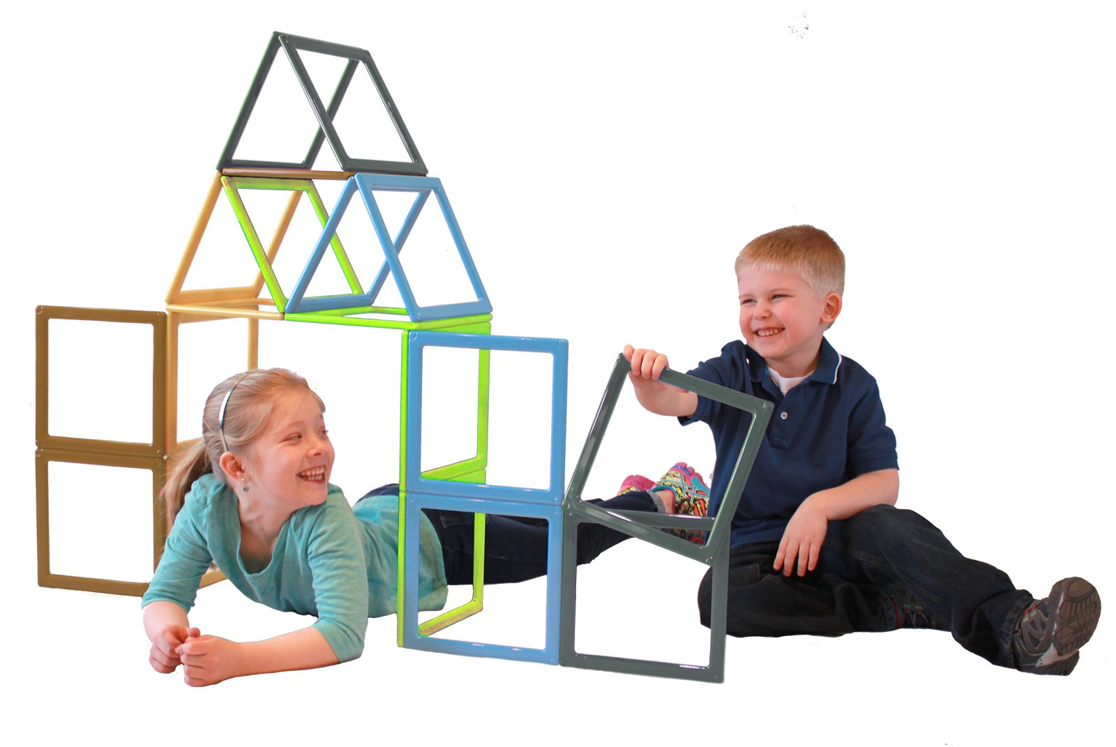 Earth Dream Builder Magnetic Building Set (Set of 19)