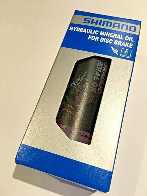 SHIMANO Aceite Min.SH.Freno Disco 100ml, Unisex Adulto, Multicolor ...