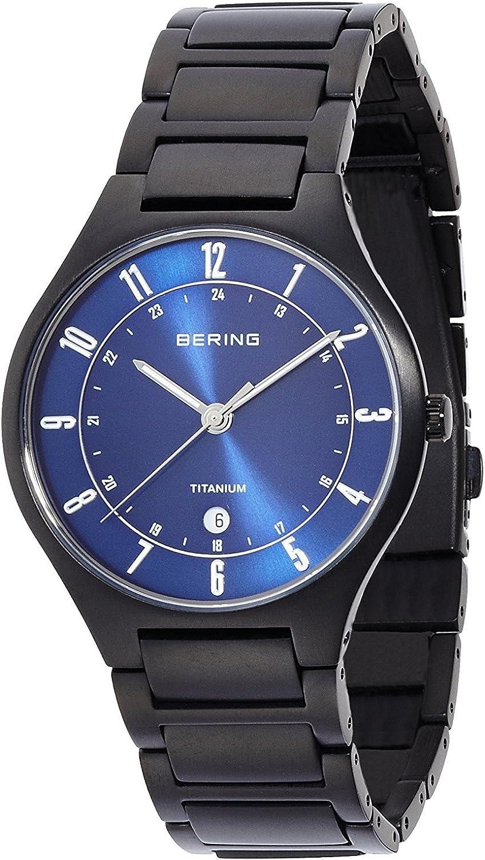 Bering enlace titanio 11739–727–Reloj para hombres