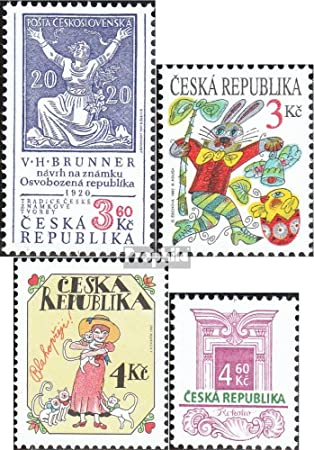 Prophila Collection República Checa Michel.-No..: 133,134,139,140 ...