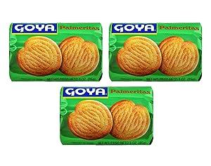 Goya Palmeritas (3 Pack, Total of 9oz)