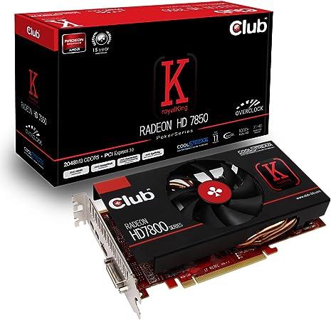 Club 3d Cgax 78560 Amd Radeon Hd 7850 Grafikkarte Computer Zubehör