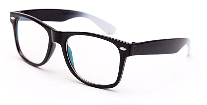 50fe7300a69 Image Unavailable. Image not available for. Colour  Thewhoop Full Rim  Wayfarer Unisex Spectacle Frame