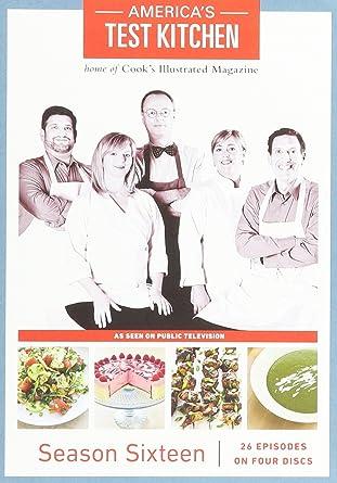 Amazon Com America S Test Kitchen Season 16 Dvd Movies Tv