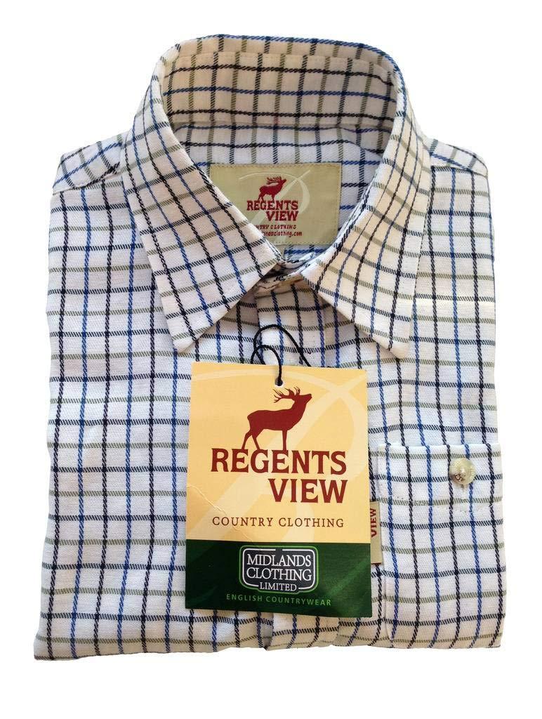 Grandwish Boys Long Sleeve Check Shirts for Girls 2-12 Years