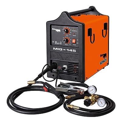 Rhino Mig-145 - Mig Welding Equipment - Amazon com