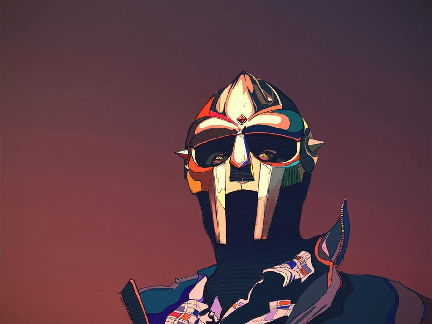 MF Doom Posters Wall Poster Print Huawuque MF Doom Poster Standard Size 18-Inches by 24-Inches