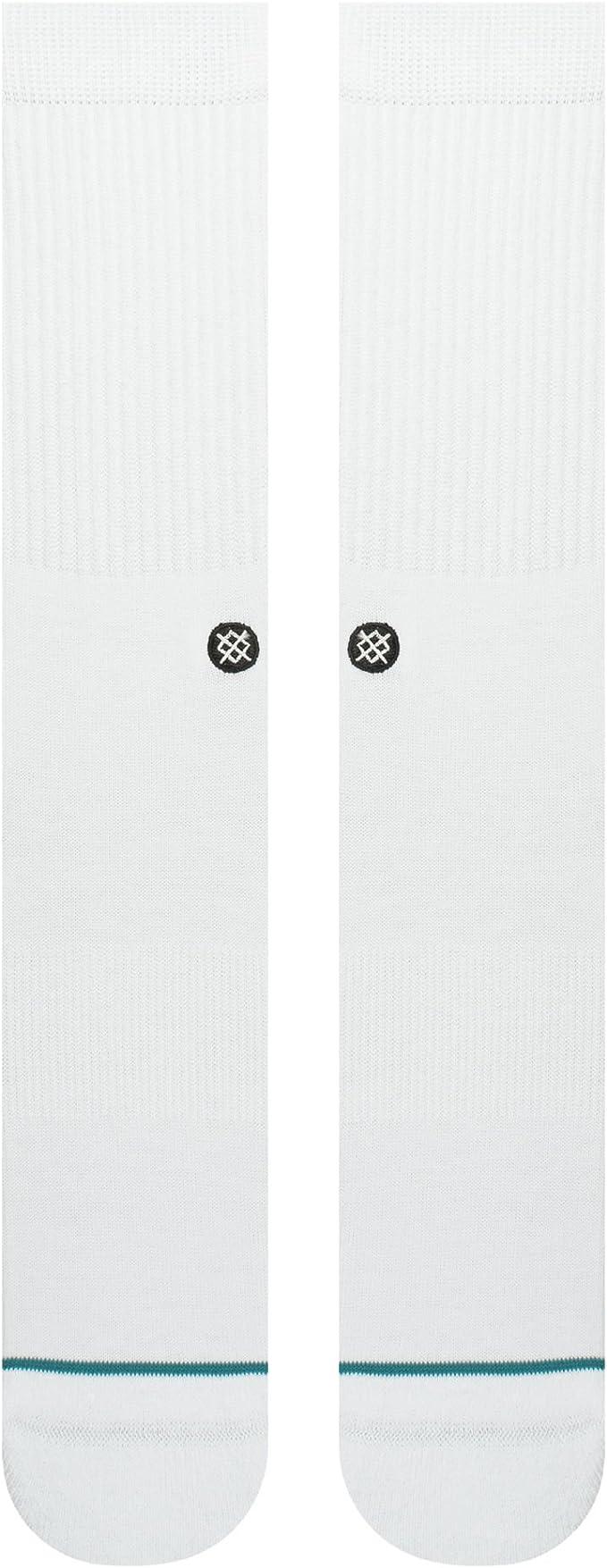 Stance Icon Classic Low Black//White Socks M256C19ICO-BLW