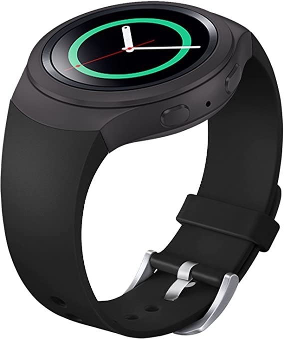 FanTEK Band for Samsung Gear S2 - Soft Silicone Sports Style Replacement Strap Work for Samsung Gear S2 Smart Watch SM-R720 SM-R730 Version Only ...