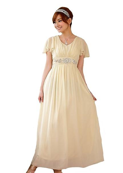 PLAER - Vestido de novia - Mujer negro champán XXXL 48