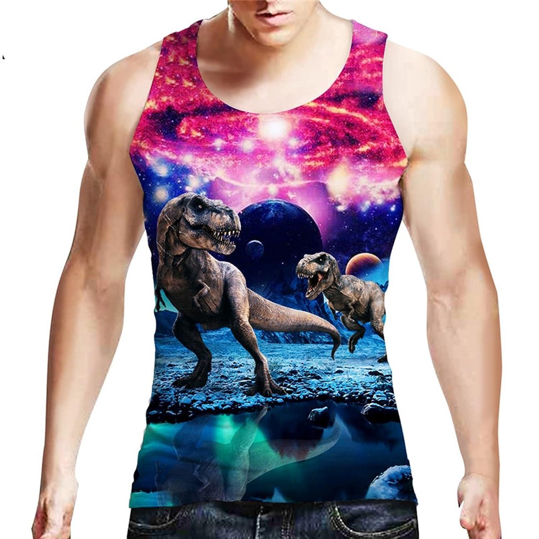 jxytjdtd Tank Top Men Sleeveless Summer Cotton Slim Men Tank Tops Bodybuilding Fitness Undershirt Dropship at Amazon Mens Clothing store:
