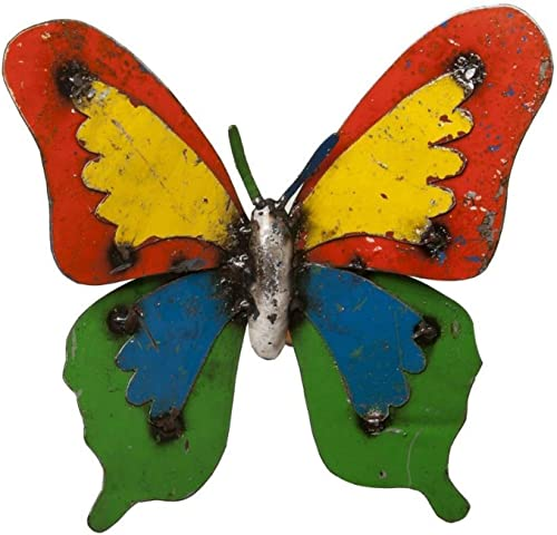 Upcycled Emporium Cheerful Ulysses Butterfly Garden Stake