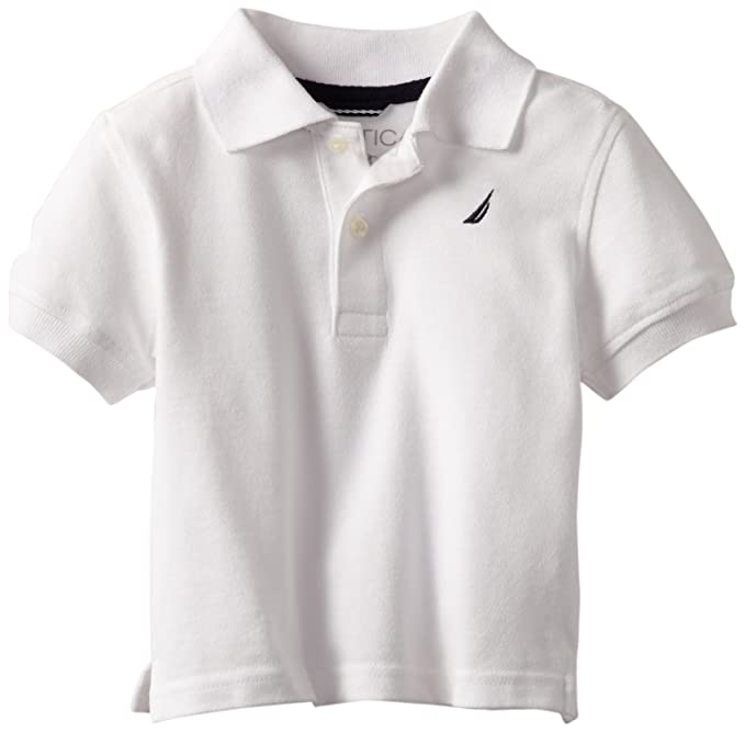 d910bf19d Image Unavailable. Image not available for. Color: Nautica Sportswear Kids  Baby Boys' Short Sleeve Solid ...