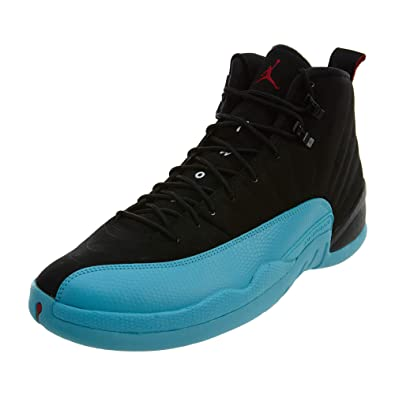 premium selection a7694 96e16 Nike Mens Air Jordan 12 Retro Gamma Blue Leather Basketball Shoes Size 11