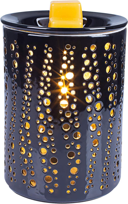 Quemador de incienso eléctrico para velas aromáticas y velas aromáticas para calentar velas aromáticas, cera derretida, spa, aromaterapia