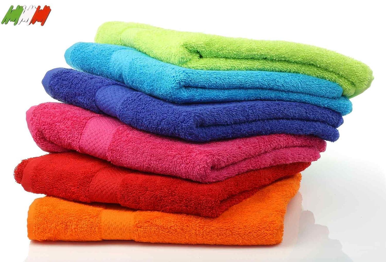 CASA TESSILE Verona asciugamano piccolo cm 40x60 - BLUETTE OB Textile