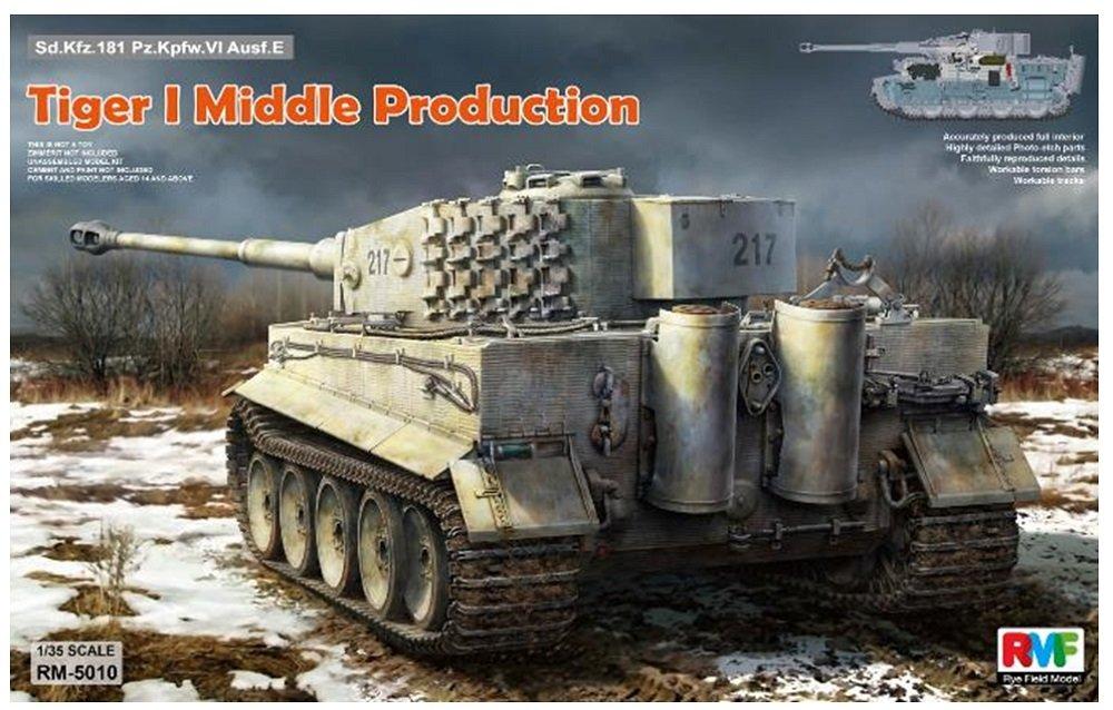"'Rye Field Model RM Kit de 5010–Modélisme tiger i Middle production Full Interior """