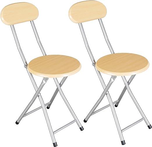sillas plegables cocina o salon