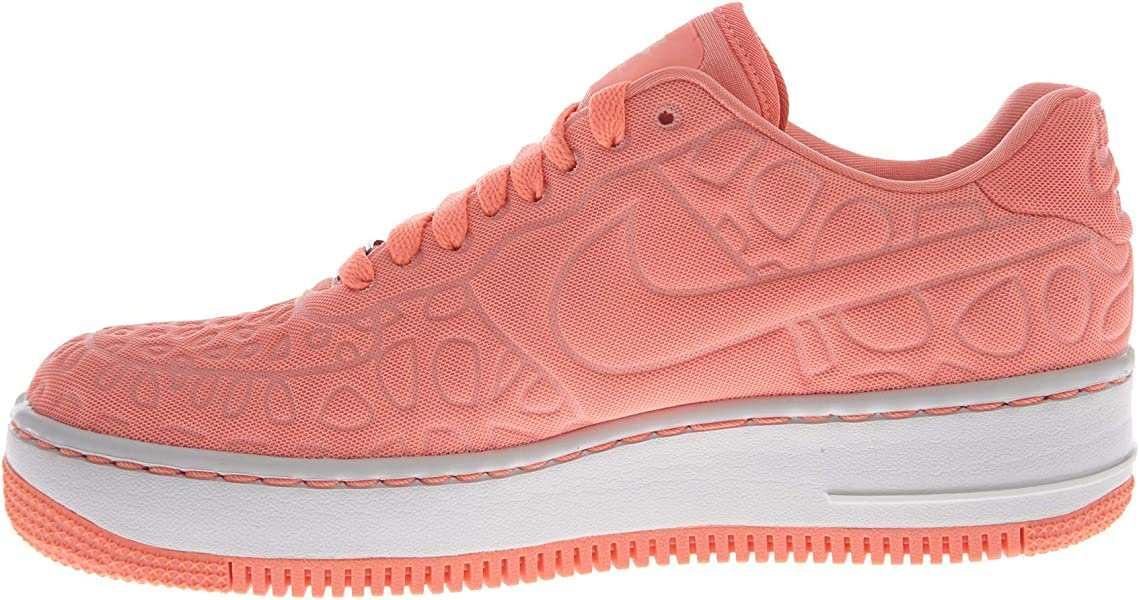3f4cbe2a6f5ab1 Nike Air Force 1 Upstep SE 844877-600 Atomic Pink Light Iron Ore . Back.  Double-tap to zoom