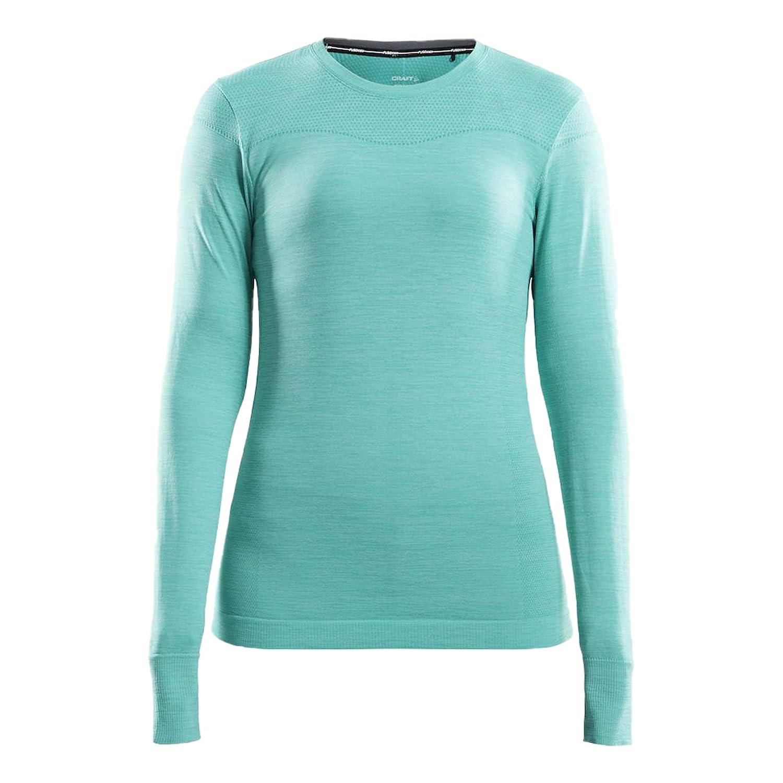Craft Damen Fuseknit Comfort Running Longsleeve Laufbekleidung Longsleeve Mint - Weiß Xs
