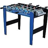 Mightymast Leisure 3ft SHOOTER Kids Table Football Foosball - Blue