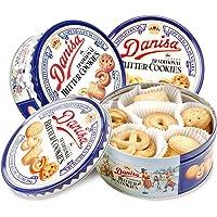 Danisa 皇冠丹麦曲奇饼干原味200g×3铁罐装(印尼进口)