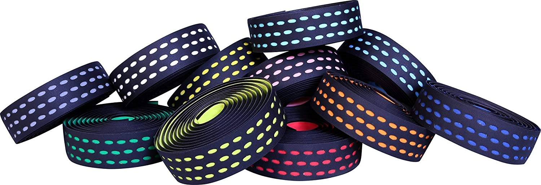 Black//Sky Blue Velox Bar Tape Bi-Colour 3.5 Dual Density 2.10m x 30mm x 3.0mm