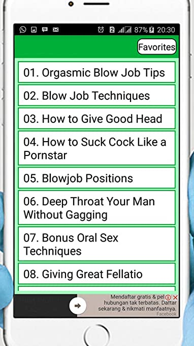 How to give a good head job