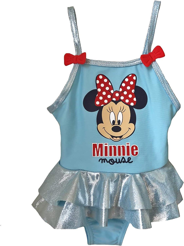 Minnie Costume da Bagno con Riccio 12-18 24-36 Mesi Disney Estate 2019