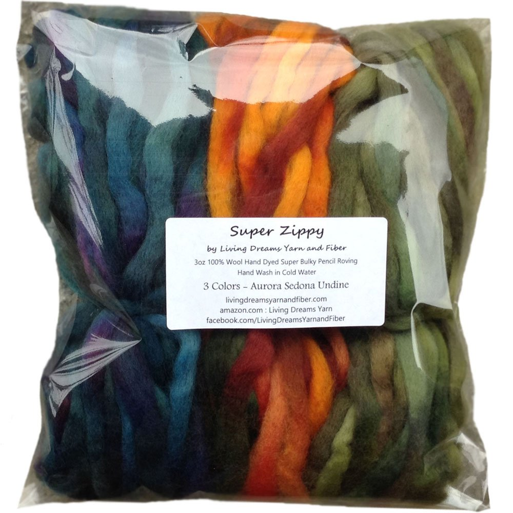Living Dreams Super Zippy; - Super Bulky ovillo de lana para ...