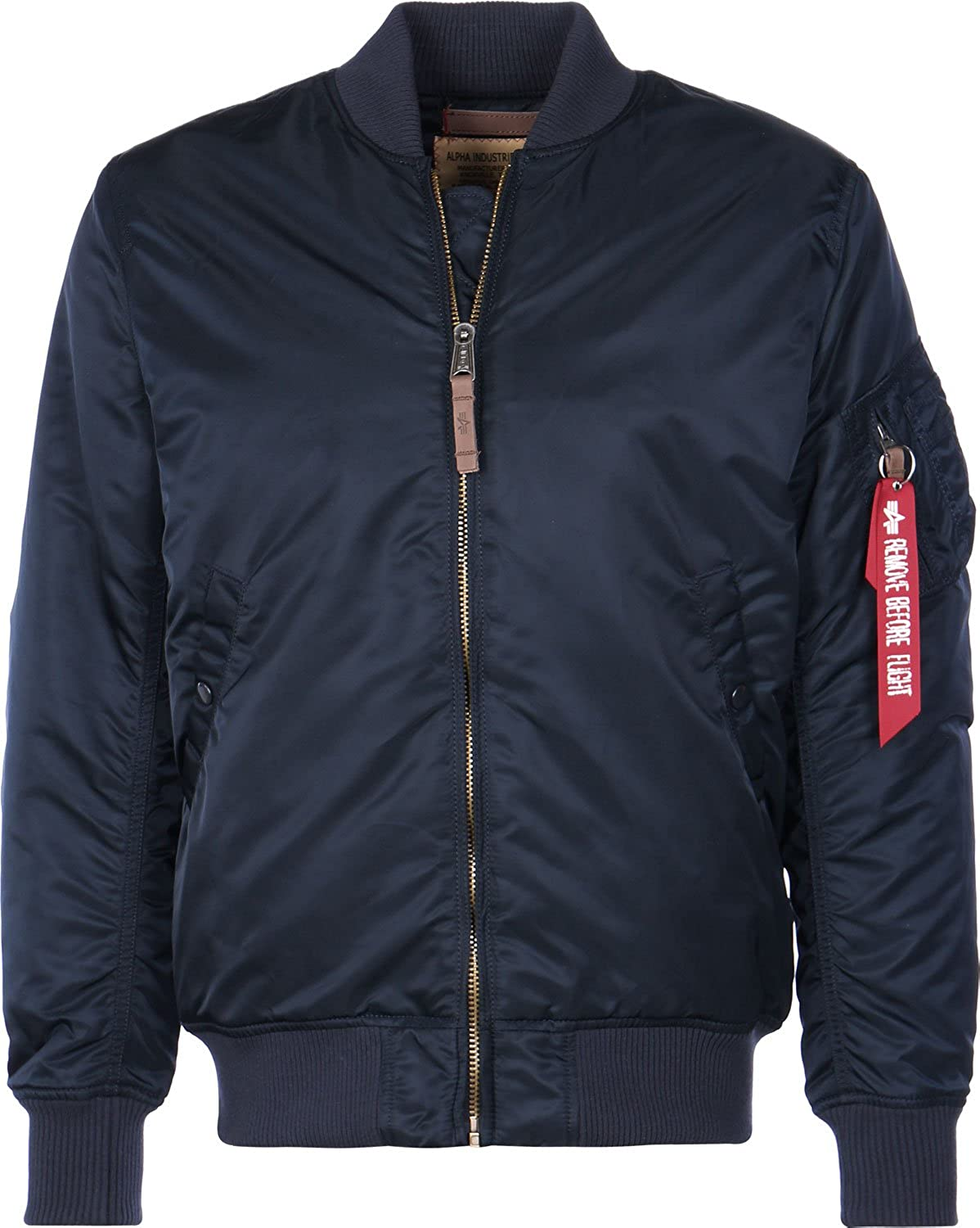 Alpha Industries Uomo Giacca invernale MA-1 VF 59 Long Azul