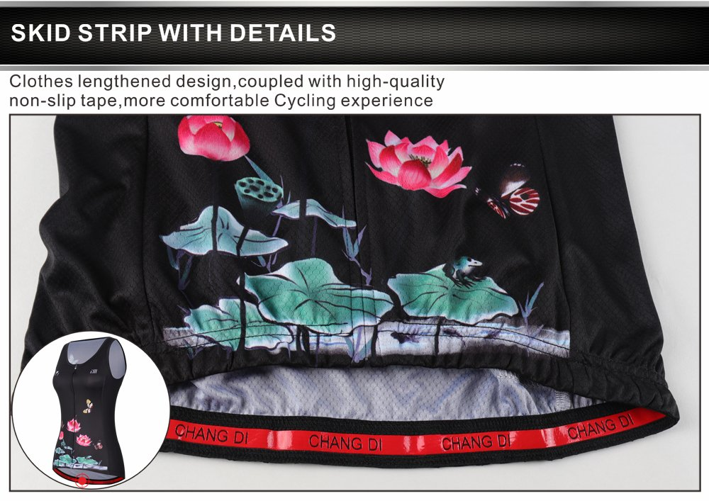 ZM Cycling Sleeveless Jersey Vest Women/Bicycle Cycle summer Vest Women/Breathable Bike Vest Sleeveless (XL, 3) by ZM (Image #9)