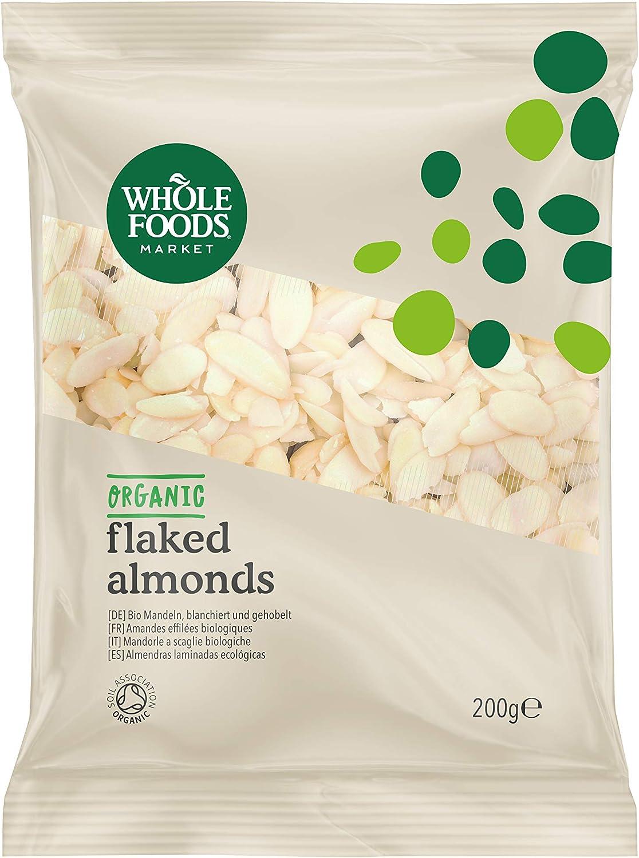 Whole Foods Market - Almendras laminadas ecológicas, 200 g: Amazon.es: Alimentación y bebidas