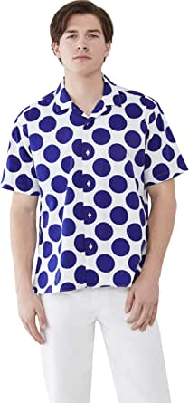 Gitman Vintage Men's Big Dots Camp Shirt