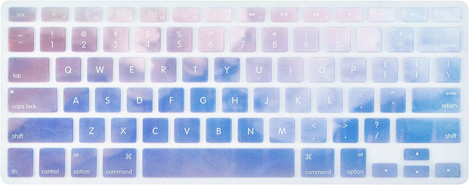 LuvCase Keyboard Cover Protector Skin Compatible with MacBook Air 13 inch 2020 2019 2018 Release A1932 with Retina Display /& Touch ID Pink Marble