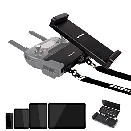 Drone Fans Mavic Pro 2 4 7-12 9 in Phone Tablet Holder Mount Remote  Controller Foldable Rotatable Extender Stand Mount with Lanyard for DJI  Mavic PRO