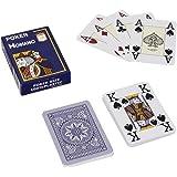 """MODIANO """"Cristallo"""" - 100% Plastik Kartenspiel, 4 Pips / Eckzeichen im Jumbo Index"""