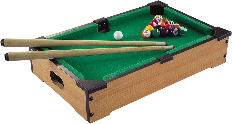 Solex Billardtisch Micro - Mesa de billar, color marrón, talla 34 x 22 x 7 cm: Amazon.es: Deportes y aire libre