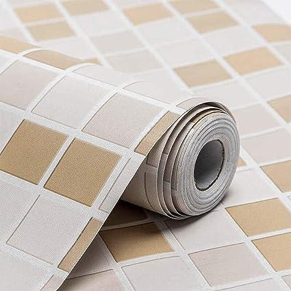 Wolpin Vinyl Self Adhesive Sticker Wallpaper 45 X 500 Cm Amazon In Home Improvement