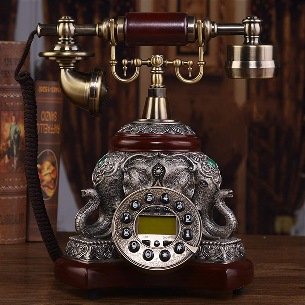 JGBHPNYX European Antique Telephone Pastoral Fashion Creative Living Room Home Retro Telephone Landline