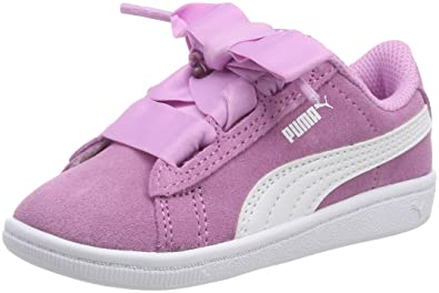 82f4e43b2e7 Puma Girls Vikky Ribbon Ac Inf Low-Top Sneakers  Amazon.co.uk  Shoes ...