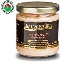 Beurre d'érable naturel (organic) - pate à tartiner naturelle sans matière grasse : 330g - Canadian Pure and Simple
