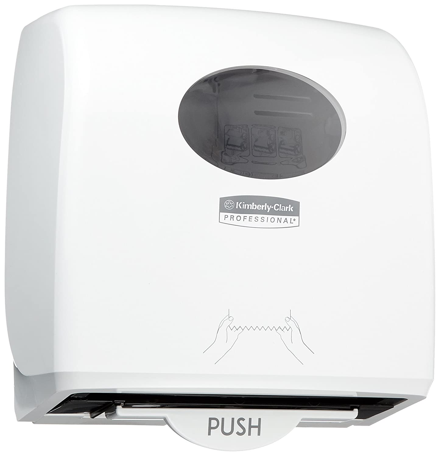 AQUARIUS* SLIMROLL* Dispensador de Toallas Secamanos en Rollo 7955 - Blanco: Amazon.es: Industria, empresas y ciencia
