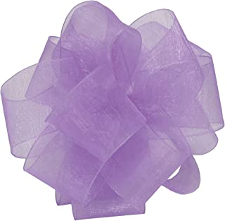 "product image for Offray Berwick LLC 427682 Berwick Simply Sheer Asiana Ribbon -1-1/2"" W X 25 yd - Orchid Ribbon"