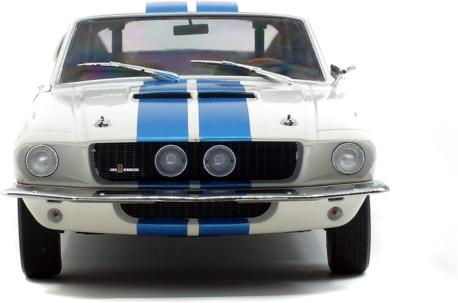 1:18 Solido Ford Shelby Mustang GT500 1967 bluemetallic//white