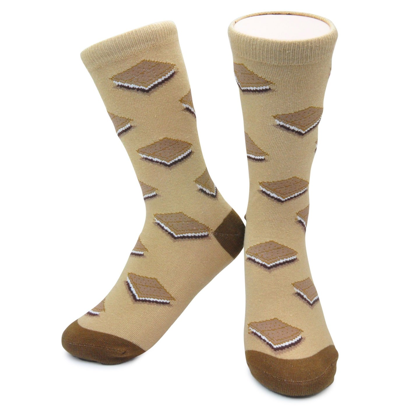 Funky Smores Socks by Neon Eaters - Kids, Womens & Mens sizes - Organic Cotton NeonEaters